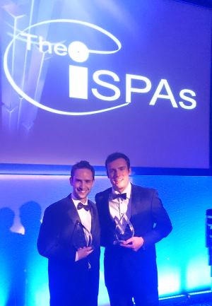 Paul and Jacob with ISPA Awards