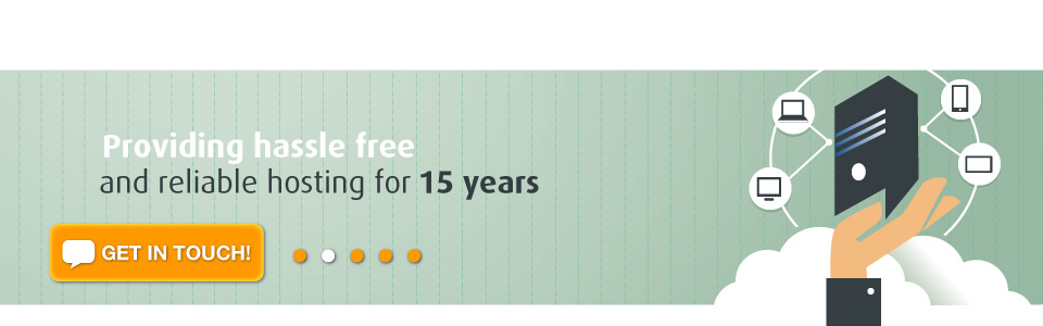 Hassle, Free, reliable uk web hosting for 15 years.